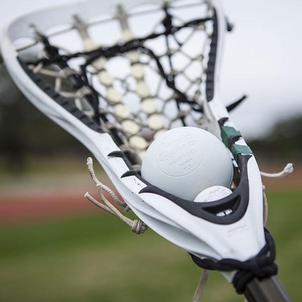 NOCSAE Lacrosse Ball White